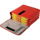 Bolsa isotérmica porta-pizzas 45 x 45 x 17 cm
