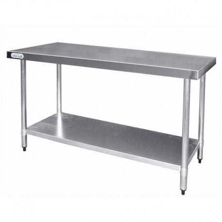 Mesa de acero inoxidable 900 x 600 x 900 mm