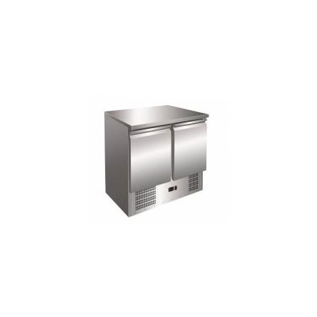 Refrigerador compacto de 2 puertas para mostrador