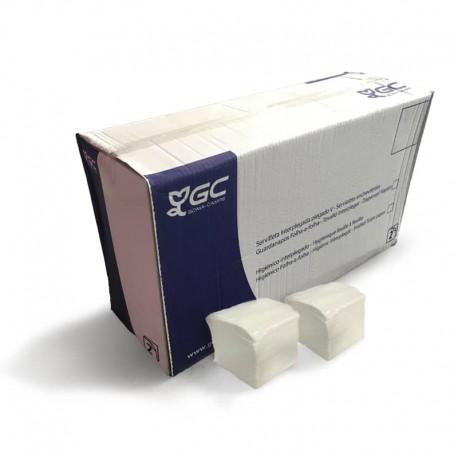 Caja de servilletas interplegadas 200 x 107 mm, doble hoja