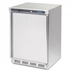 Congelador bajo mostrador 140 litros, acero inoxidable