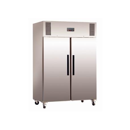 Congelador con doble puerta maciza de 1200 litros Polar